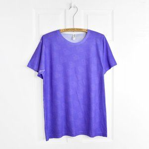 American Apparel Purple Diamond T Shirt